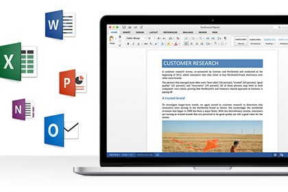 Office per Mac 2016 preview